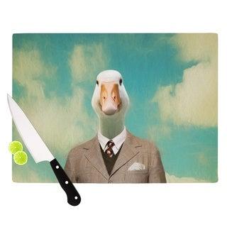 Kess InHouse Natt 'Passenger 15A' Duck Cutting Board