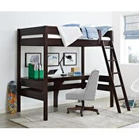 Avenue Greene Lola Loft Bed with Desk
