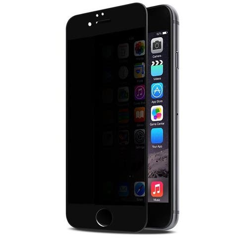 LAX iPhone 7 and 7 Plus Privacy Tempered Glass Screen Protector (Pack of 2)