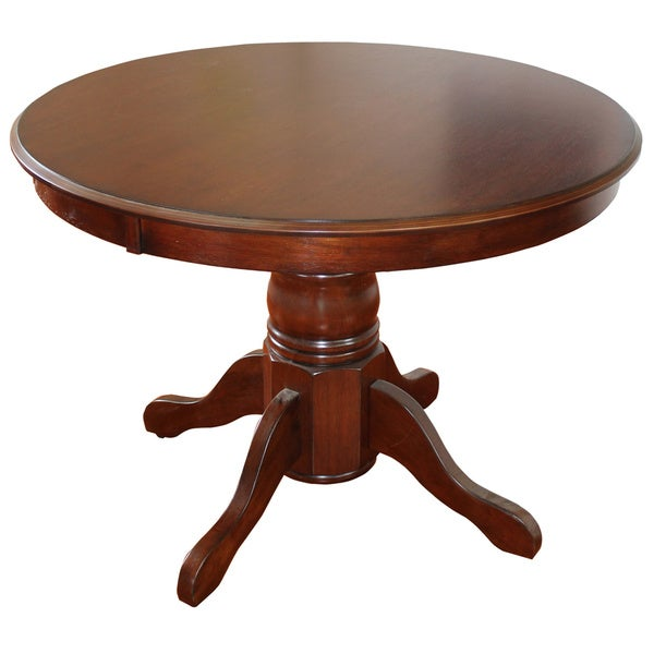 Classic Cherry Finished Pedestal Dining Table by Home Styles - Free Shipping Today - Overstock ...