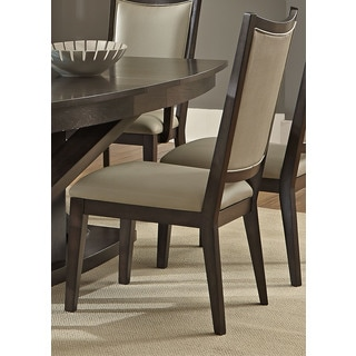 Southpark Contemporary Charcoal Upholstered Side Chair