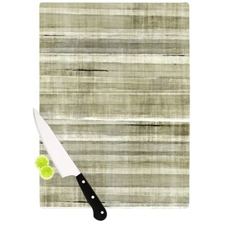 KESS InHouse CarolLynn Tice 'Simplicity' Light Brown Cutting Board