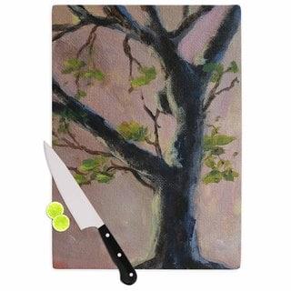 KESS InHouse Cyndi Steen 'Aussie Tree' Pink Nature Cutting Board
