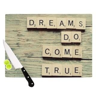 KESS InHouse Cristina Mitchell 'Dreams' Wood Cutting Board