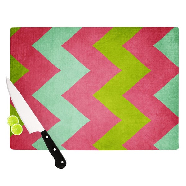KESS InHouse Catherine McDonald 'Cocktails With Lilly' Cutting Board