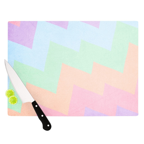 KESS InHouse Catherine McDonald 'Blaze' Cutting Board