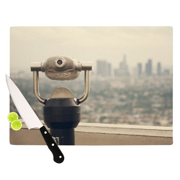 KESS InHouse Catherine McDonald 'The View LA' Cutting Board