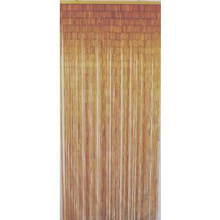 Natural bamboo curtains 125 strands