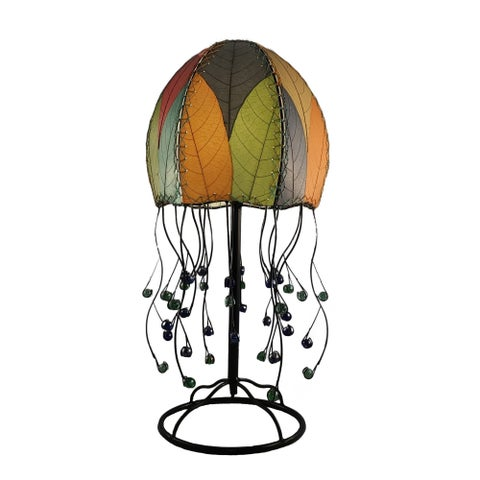 Handmade Jellyfish Table Lamp
