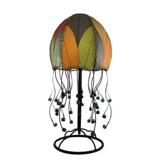 Eangee Wrought Iron Jellyfish Table Lamp|https://ak1.ostkcdn.com/images/products/13149502/P19876667.jpg?impolicy=medium