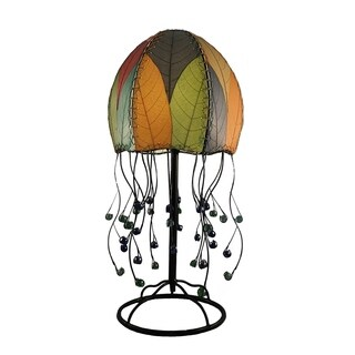 Eangee Wrought Iron Jellyfish Table Lamp (3 options available)