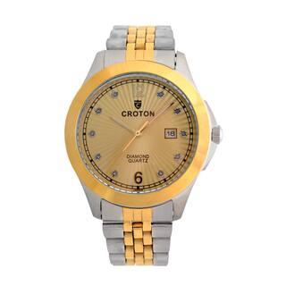 Croton Mens CN307562TTCD Stainless Two Tone 10 Diamond dial Watch|https://ak1.ostkcdn.com/images/products/13149506/P19876673.jpg?impolicy=medium