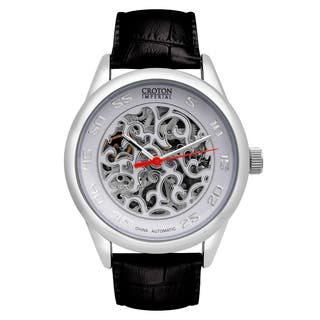 Croton Mens CI331095SSDW Stainless Silvertone Imperial China Automatic Strap Watch|https://ak1.ostkcdn.com/images/products/13149510/P19876705.jpg?impolicy=medium