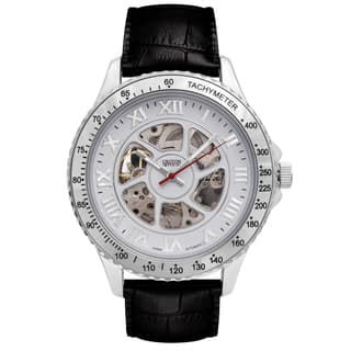 Croton Mens CI331094SSDW Stainless Silvertone Imperial China Automatic Strap Watch|https://ak1.ostkcdn.com/images/products/13149519/P19876719.jpg?impolicy=medium