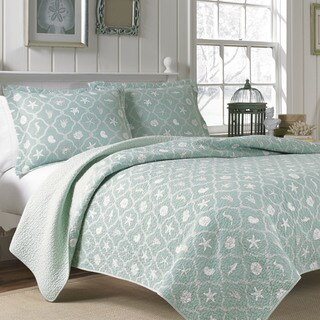Laura Ashley Hyannis Sea Quilt & Sham Set