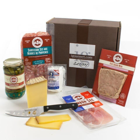 igourmet The French Charcuterie & Cheese Gift Box