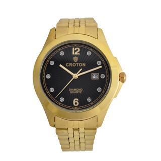Croton Mens CN307562YLBD Stainless Goldtone 10 Diamond dial Watch|https://ak1.ostkcdn.com/images/products/13149558/P19876716.jpg?impolicy=medium