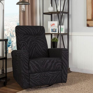 Somette Helms Zebra Accent Chair
