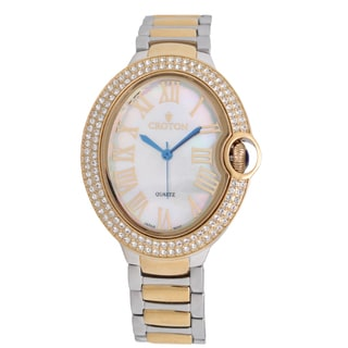 Croton Ladies CN207566TTMP Stainless Twotone Quartz Watch
