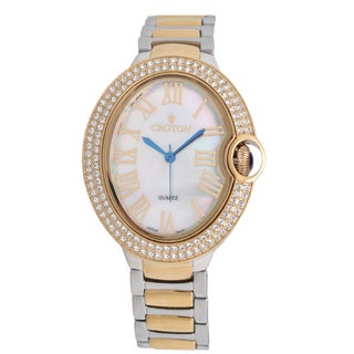 Croton Ladies CN207566TTMP Stainless Twotone Quartz Watch