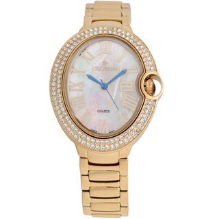Croton Ladies CN207566YLMP Stainless Goldtone Quartz Watch