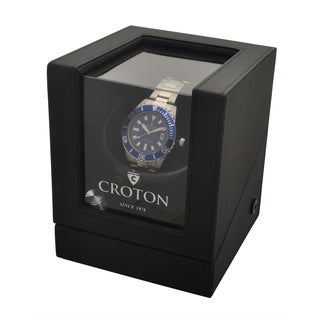 Croton Men's CA301294SLWD Stainless Stilvertone Automatic Watch with Winder CA301294SLWD