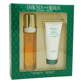Elizabeth Taylor Emeralds and Diamonds Women's 2-piece Fragrance Set
