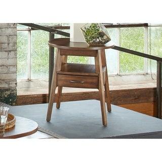 Landon Dark Blonde Modern Oval End Table