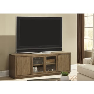 Bennett Pointe Smokey Tan Modern 68 Inch TV Console