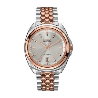 Bulova Mens 65B159 Stainless Steel Two-Tone Accu Swiss Bracelet Watch