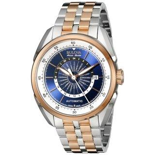 Bulova Men's 65B163 Stainless Steel Two-Tone Automatic Self Wind Watch