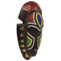 Handmade Jama African Wood Mask (West Africa)