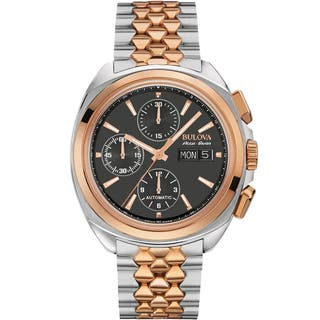 Bulova Mens 65B168 Stainless Steel Two-Tone Accu Swiss Mechanical Hand Wind Watch|https://ak1.ostkcdn.com/images/products/13150273/P19877341.jpg?impolicy=medium