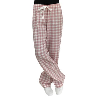 Cole Daniel Women's Red Cotton and Polyester Lounge Pants
