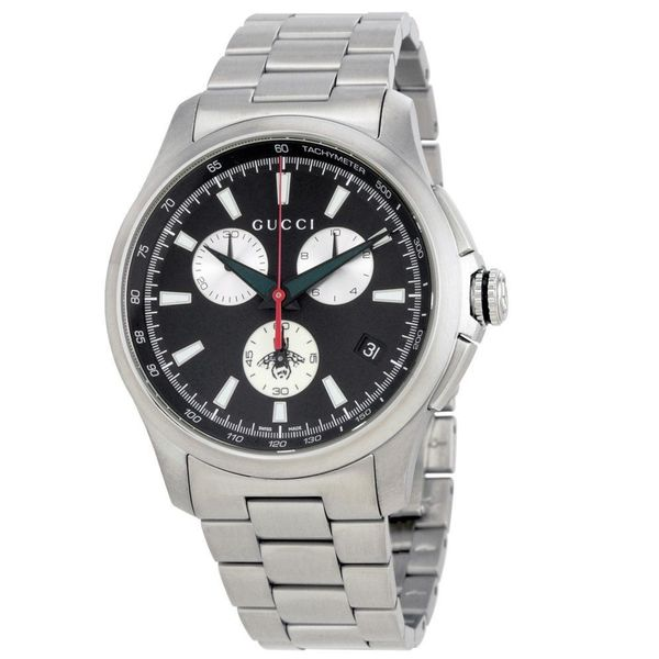 8c8406e2294 Shop Gucci Men s YA126267  G-Timeless  Stainless Steel Watch - silver - Free  Shipping Today - Overstock - 13150287