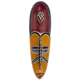 Kantanka African Wood Mask (West Africa)
