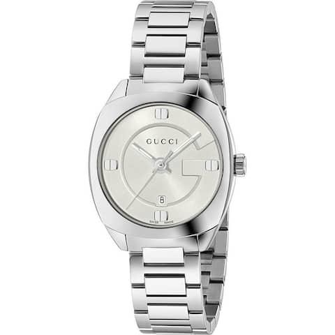 Gucci Women's YA142502 'GG2570 Small' Stainless Steel Watch