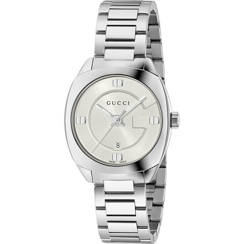 Gucci Women's YA142502 'GG2570 Small' Stainless Steel Watch