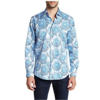 Suslo Couture Men's Givenchy Sky Button-down Shirt