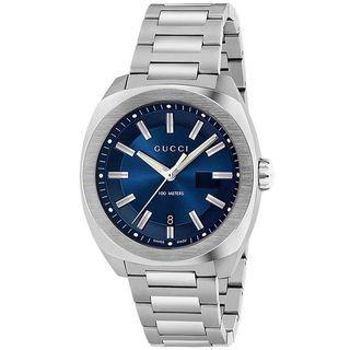 Gucci Men's YA142205 'GG2570 XL' Stainless Steel Watch