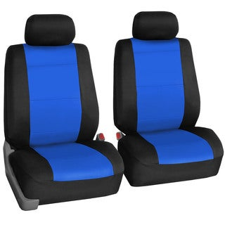 FH Group Neoprene Water Resistent Set of 2 Bucket Seat Covers Blue