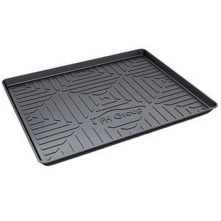 """FH Group Multi-Use Cargo Tray Liner Trunk Protector Mat 32"""" Black