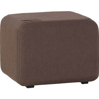 Voelkel Muto Collection Polyester Pouf Ottoman