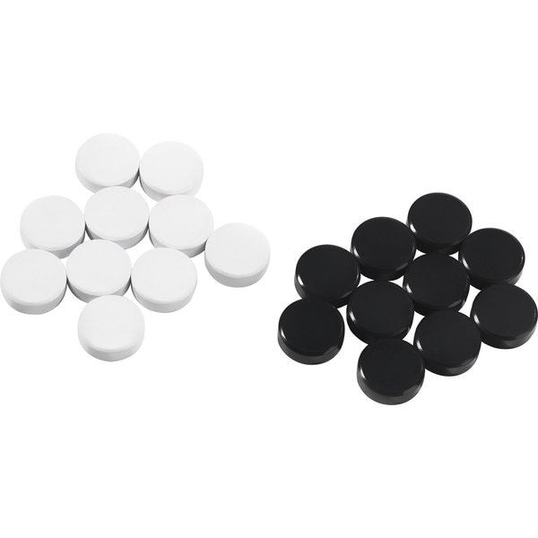 Voelkel Young Users Collection Black and White Magnetic Checkers
