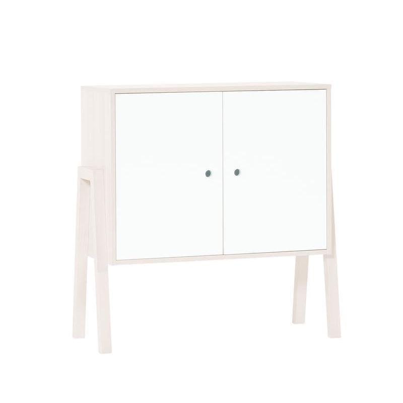 Voelkel Spot Collection White Wood 2-door Cabinet (Voelke...