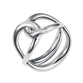 Calvin Klein Enlace Stainless Steel Women's Fashion Ring