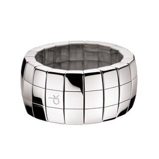 Calvin Klein Disco Stainless Steel Women's Fashion Ring