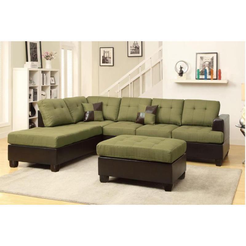 Jason 3-piece Sectional Sofa