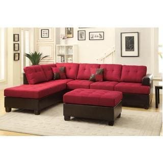 Jason 3-piece Sectional Sofa | Overstock.com Shopping - The Best Deals on  Sectional Sofas