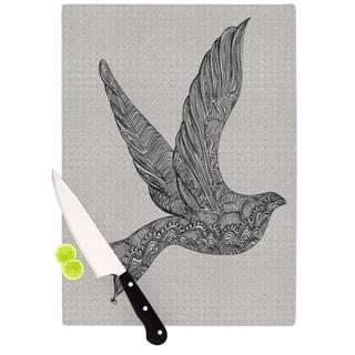"Kess InHouse Belinda Gillies ""Dove"" Cutting Board"